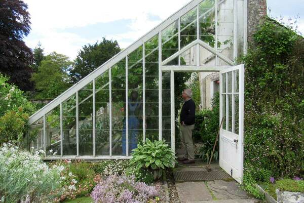 Greenhouse, Dunninald Castle and Gardens