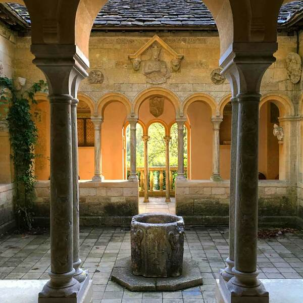 Cloister, Iford Manor