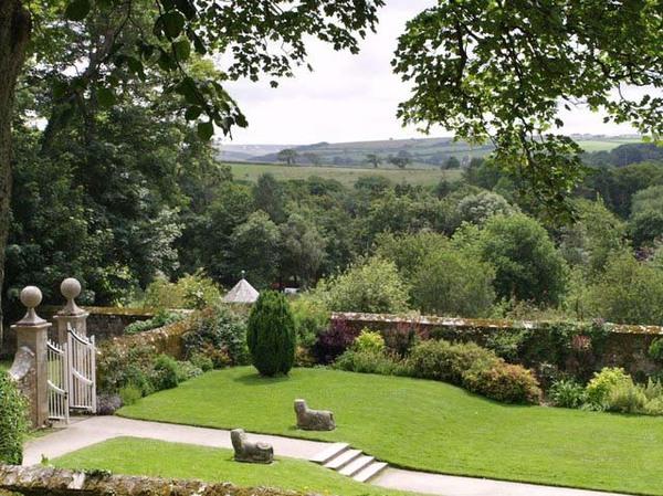 Trerice Garden