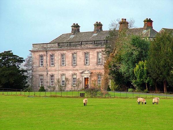 Dalemain House garden