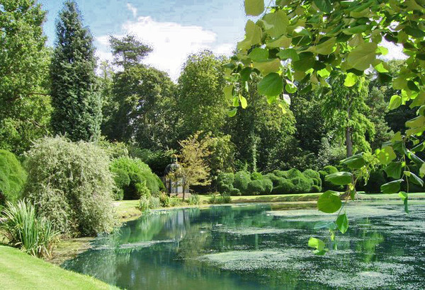 Melbourne Hall Garden