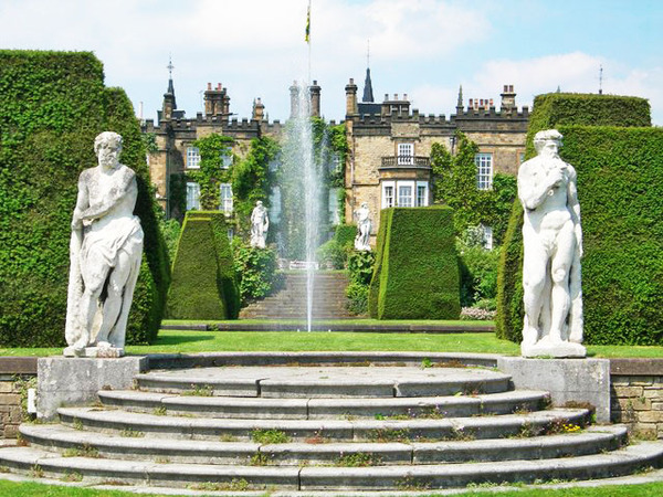 Renishaw Hall Garden