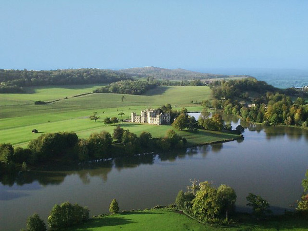 Sherborne Castle Park by Lancelot Brown