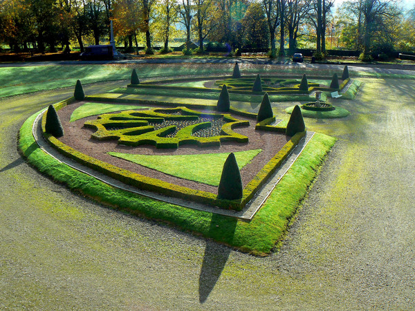 Bowes Museum Garden