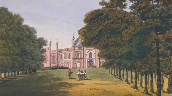 Brighton Pavilion Repton