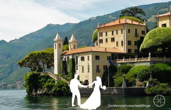 Villa Balbianello Garden Wedding