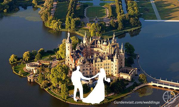 Schwerin Schloss Garden Wedding