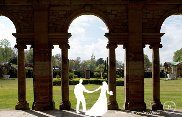 Hever Castle Garden Wedding
