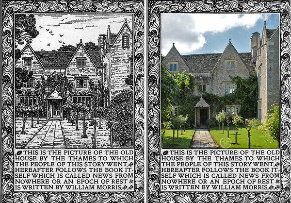 Kelmscott Morris Arts and Crafts Garden