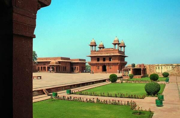 Fatehpur Sikri Garden