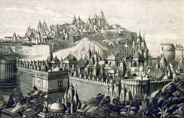 Palitana Jain Temples Shatrunjaya Hill