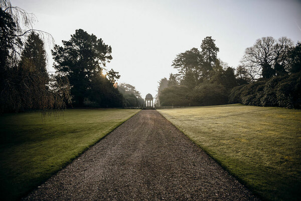 Hawkstone Hall & Gardens in April