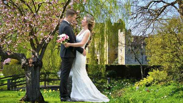 Garden Wedding England