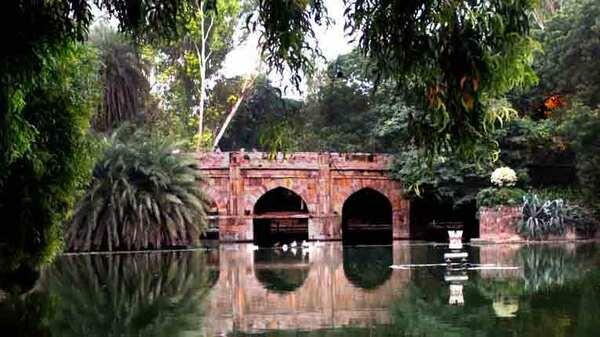 Lodi Gardens Bridge
