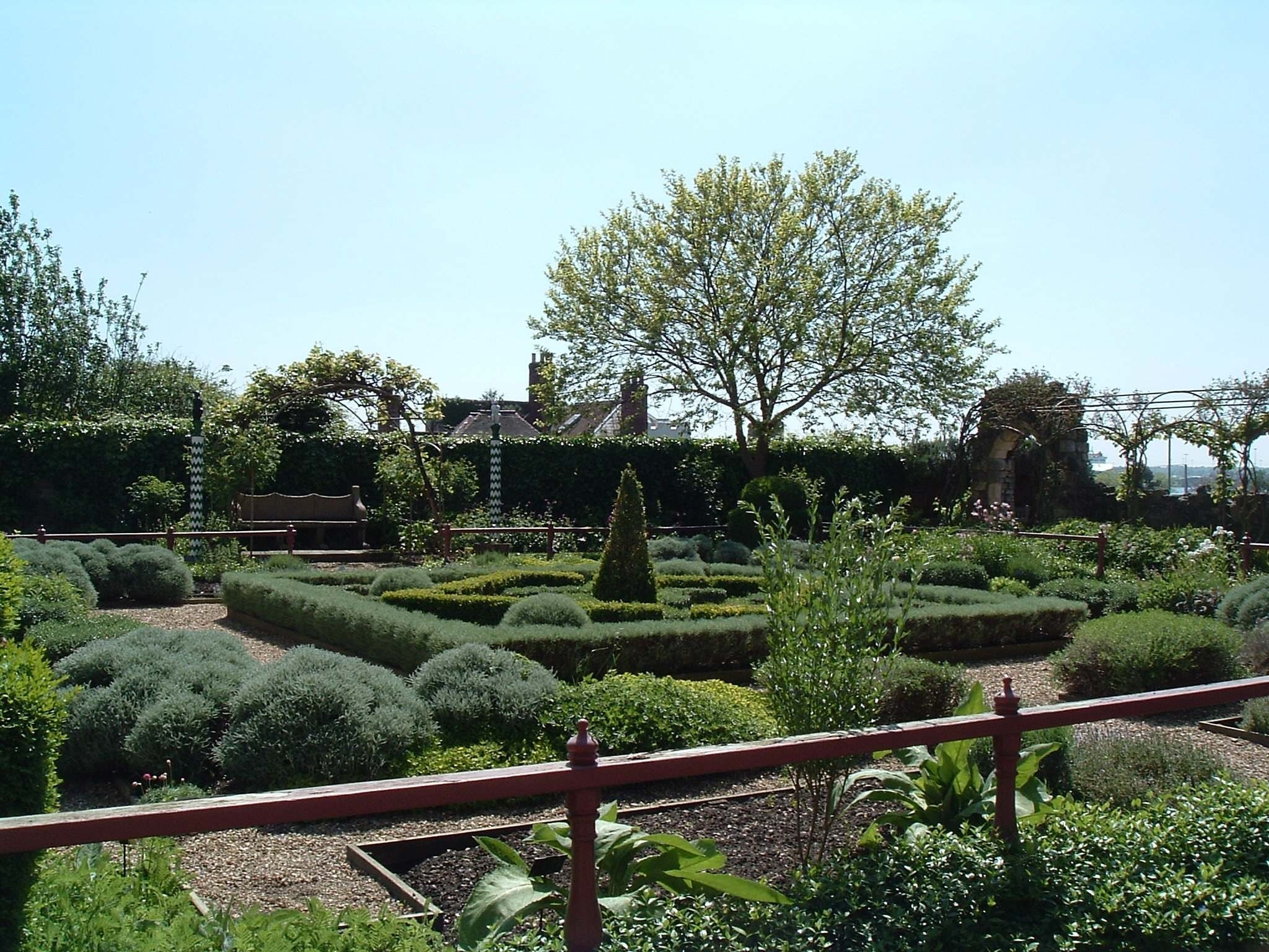 The tudor house museum and garden for The landscape gardener