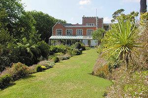 Garden at Meudon Hotel