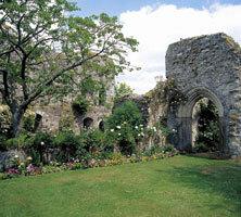 Amberley Castle Hotel Garden