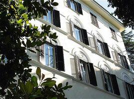 Exterior of Hotel Aldrovandi Palace