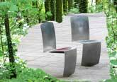 Medium aluminium chairs garden original