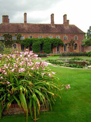 Lily Garden at Barrington Court, Somerset