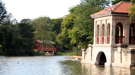 Boathouse, Birkenhead Park