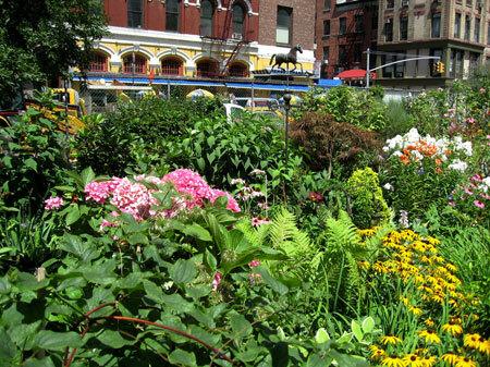 LaGuardia Corner Gardens, New York City