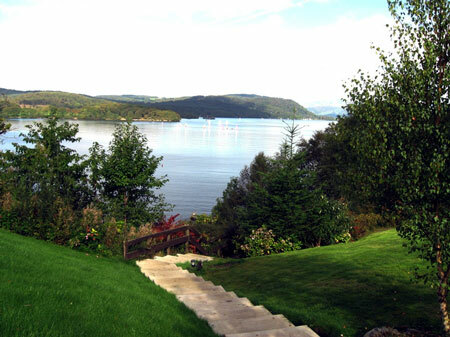 Steps down to Lake Windermere, Beech Hill Hotel