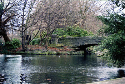 Bridge in St Stephen's Green, Dublin