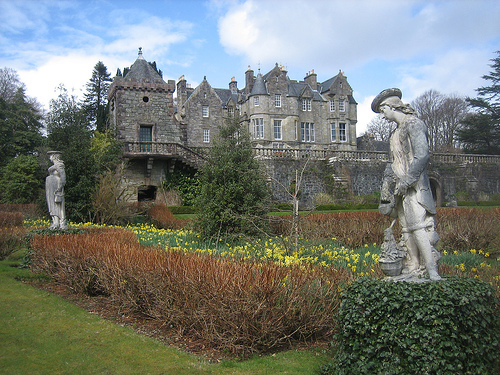 Torosay Castle Gardens, Mull