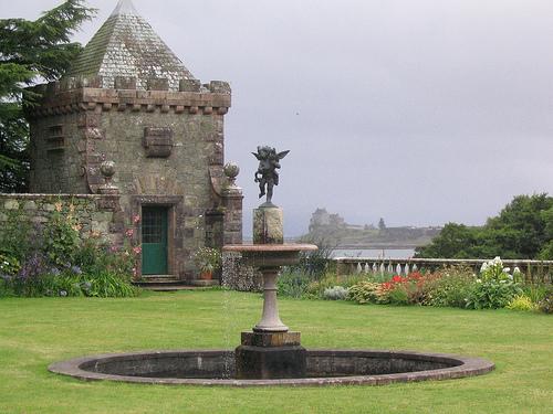 Torosay Castle Gardens, Argyll