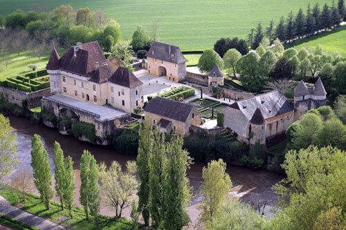 Château de Losse Gardens