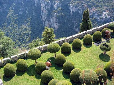 Italian Garden, Chateau de Gourdon