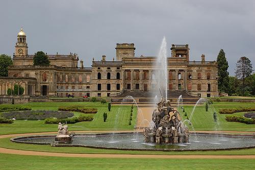 Witley Court Garden, Worcestershire