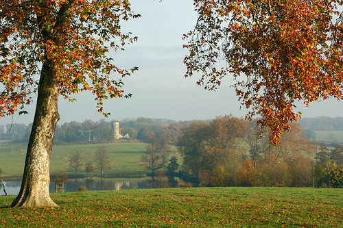 View of Folly, Wimpole Hall