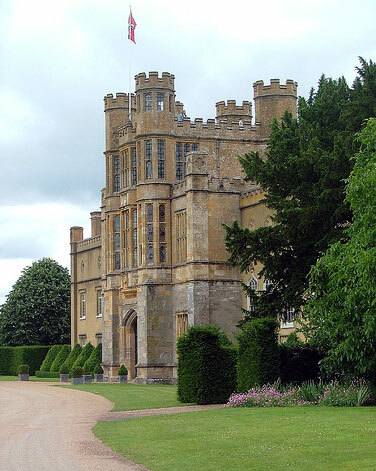 Coughton Court Garden