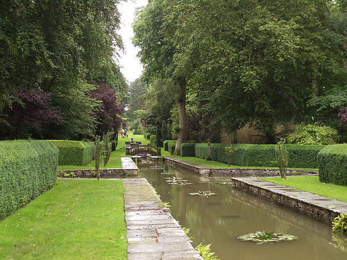 Water Gardens at Buscot Park, Oxfordshire