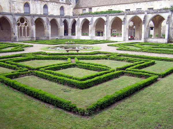 Cloisters at Abbaye de Royaumont