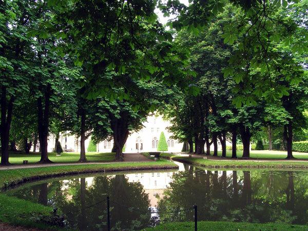 Entrance, Abbaye de Royaumont