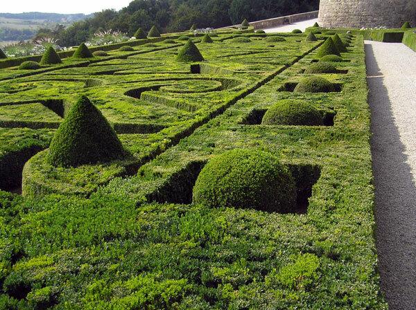 Chateau de Hautefort Gardens