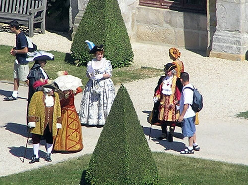 Period Costumes at Chateau de Vaux-le-Vicomte