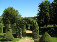 Medium eyrignac garden entrance original