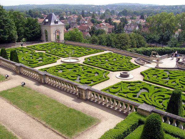Parterre, Chateau d'Auvers