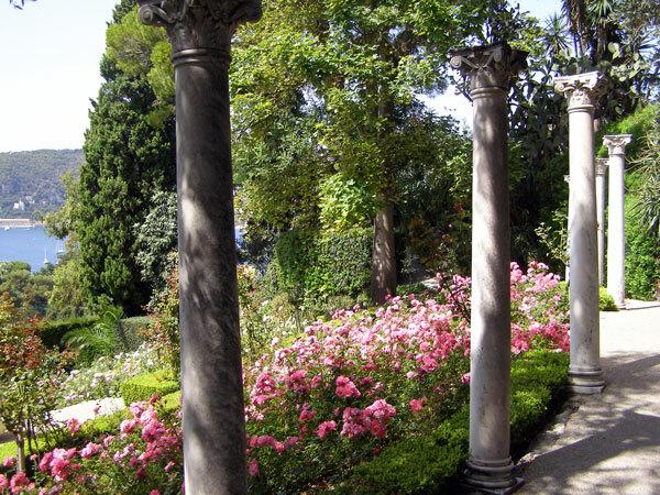 Villa Ephrussi Garden