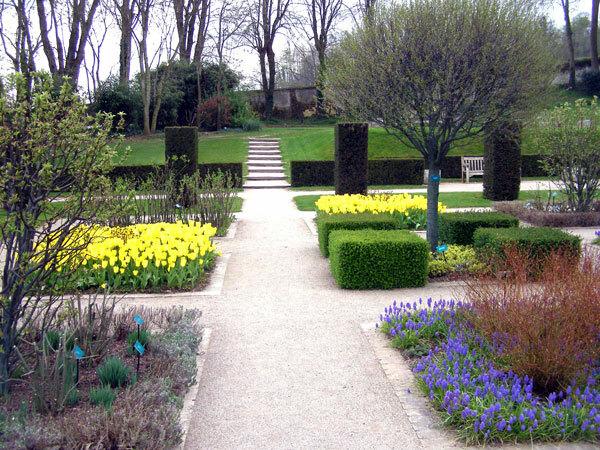 Jardins de Valloires in Spring