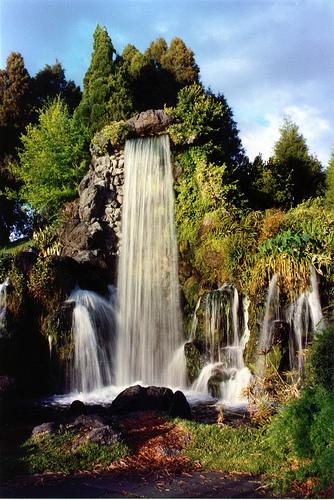 Waterfall, Cypress Gardens, Florida