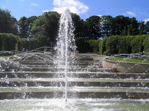 Water Cascade, Alnwick Garden