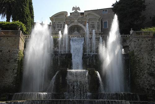 Fountains at Villa d'Este, Tivoli