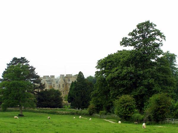 View of Chastleton House Garden