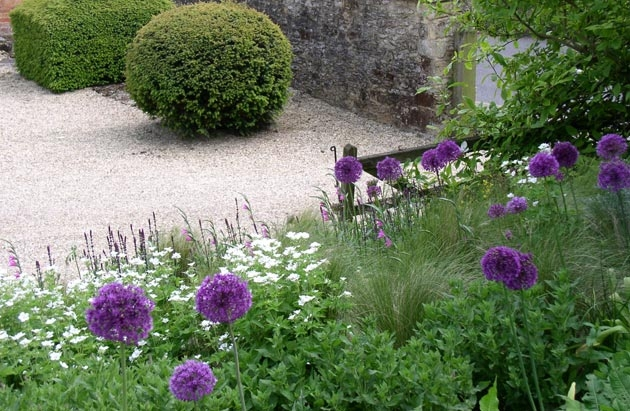 Alice bowe english landscape garden design for Garden design ideas for medium gardens