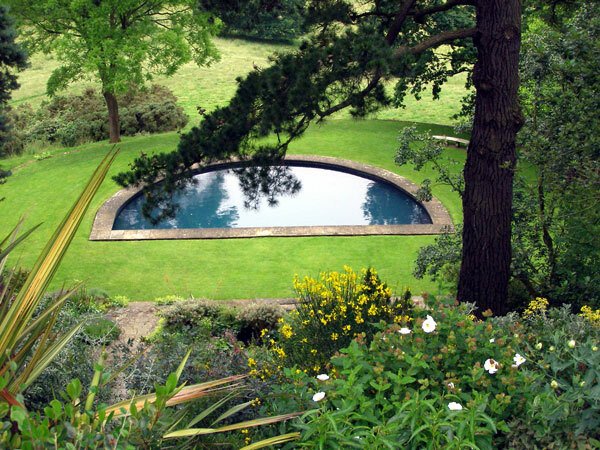 Swimming Pool, Kiftsgate Court Garden